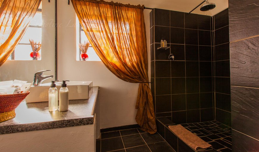 The separate shower and toilet facilities of this unit makes it suitable for families.