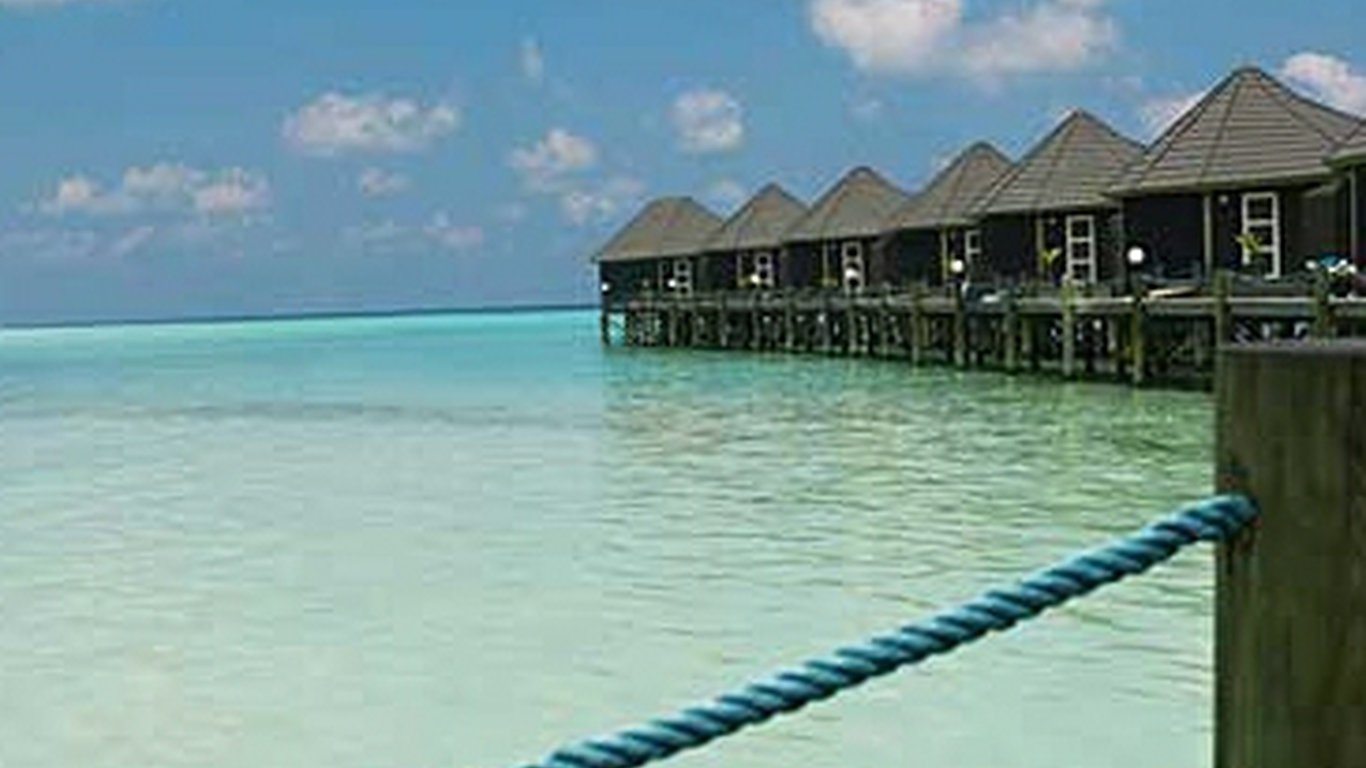 Kuredu Island Resort in Lhaviyani Atoll , Maldives