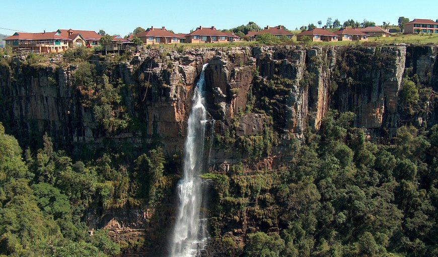 Waterfall View in Graskop, Mpumalanga, South Africa
